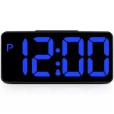 โปรโมชั่น Txl Led Alarm Clock With 8 6 Large Display Digital Alarm Clock With 2 Usb Ports Snooze Dimmer And Alarm Volum Control 12 24 Hours Display Desk Clock,usb Power Table Clock Suit For Bedside Living Room Office Black) Intl จีน