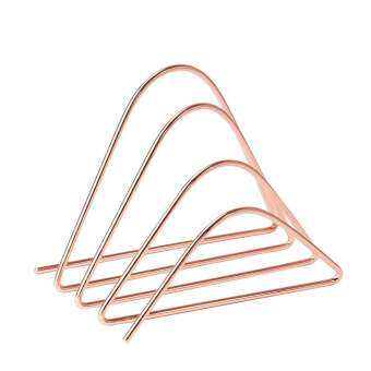 U Brands : UBD856U06-24* แท่นวางเอกสาร Desktop Letter Sorter, Wire Metal, Copper-