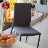 U Ro Decor เก้าอี้รับประทานอาหาร รุ่น Corona F สีเทา ใหม่ล่าสุด