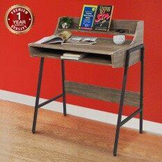 U Ro Decor โต๊ะทำงานอเนกประสงค์ โต๊ะคอมพิวเตอร์ รุ่น Ideal ไอดีล สีโอ๊ค น้ำตาลเข้ม เป็นต้นฉบับ