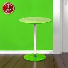 ทบทวน U Ro Decor Toronto โต๊ะข้างอเนกประสงค์ รุ่นโตรอนโต สีเขียว