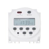 Uinn New Lcd Digital Power Programmable Timer Ac 12V 16A 4 4Va Time Relay Switch Intl เป็นต้นฉบับ