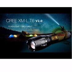 ซื้อ Led Cree Xml T6 ไฟฉายความสว่างสูง Led Cree Xml T6 5 โหมด Flashlight ถูก ใน กรุงเทพมหานคร