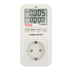 ขาย ซื้อ Uni T Ut230B Series Lcd Plug In Energy Consumption Meter Voltage Current Cost Frequency Power Factor Monitor Co2 Emission Detection Eu Plug Intl ใน ชิลี