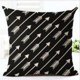 ขาย ซื้อ Ur Creative Stripes Pillow Case Intl ใน จีน