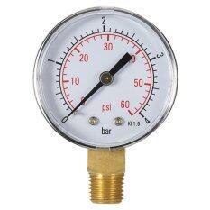 ซื้อ Ustore Practical Pool Spa Filter Water Pressure Gauge Mini 60 Psi 4 Bar Ts 50 Black Intl ออนไลน์
