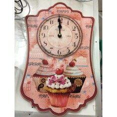 ขาย Vimata Vintage นาฬิกาติดผนังสไตล์วินเทจ ลายคัพเค๊ก รหัส C 19 1 ถูก กรุงเทพมหานคร
