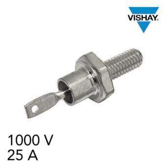 Vishay VS-25F100 ไดโอด Diode 1000 V, 25 A, VS-25 Series