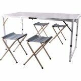 ซื้อ Vkp โต๊ะปิคนิคพับได้อลูมิเนียม 120X60 Cm พร้อมเก้าอี้พับได้ 4 ตัว Vkp ออนไลน์