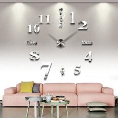ราคา Vococal ทันสมัยมากซ่อมนู่น 3D สติกเกอร์ติดผนังการตกแต่งนาฬิกา ใหม่ ถูก