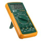 Voltage Tester Digital Multimeter Voltmeter Ammeter Ac Dc Ohm Circuit Buzzer Led Intl ถูก