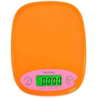 Electronic Kitchen Scale เครื่องชั่งน้ำหนัก รุ่นWH-B12 สีส้ม