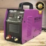 ทบทวน ที่สุด Weldmax ตู้เชื่อม Inverter Igbt 300A เชื่อมเหล็ก 4 มิล L55 ได้สบาย