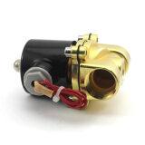 ราคา Whyus 220โวลต์กระแสไฟฟ้าน้ำมันเชื้อเพลิงแก๊สโซลินอยด์วาล์วน้ำปิดปกติ ถูก