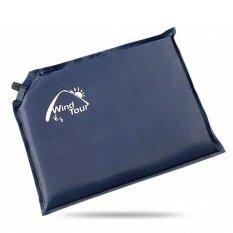 ส่วนลด Wind Tour Self Inflating Seat Cushion For Camping Hiking 30X40X3Cm Dark Blue Intl จีน