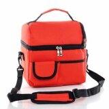 ซื้อ Wins กระเป๋าเก็บความร้อนและเย็น เพื่อความสดใหม่ของอาหาร มาพร้อมสายสะพาย สีแดง ถูก ใน กรุงเทพมหานคร