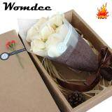 ขาย Womdee 7 Packs Soap Rose Flower With Gift Box Plant Essential Oil Rose Soap Set Guest Soap Gifts For Valentine Mother Wedding Christmas Birthday Party Decoration Intl ถูก จีน