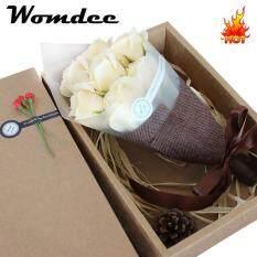 ขาย Womdee 7 Packs Soap Rose Flower With Gift Box Plant Essential Oil Rose Soap Set Guest Soap Gifts For Valentine Mother Wedding Christmas Birthday Party Decoration Intl ถูก จีน