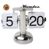 ขาย Womdee Retro Flip Down Clock Internal Gear Operated White Intl Womdee ถูก