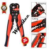 ขาย Womdee Wire Stripping Tool Self Adjusting Cable Cutter Crimper Automatic Wire Stripper Cutting Pliers Tool For Industry 10 22 Awg Stranded Wire Cutting Intl ถูก จีน