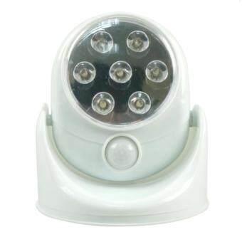 Wonderful Story LED Motion Sensor ไฟเซ็นเซอร์ 7 LED ตรวจจับการเคลื่อนไหวปรับระดับ180°