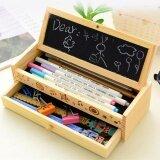 ทบทวน Wooden Pencil Case