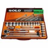 ขาย Work ประแจบล๊อคชุด 24 ชิ้น Solo กล่องเหล็ก สีส้ม รุ่น Clk Solo 524 24