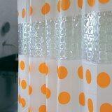 ราคา Wsp ม่านห้องน้ำ Eva 100 รุ่น Dualtex Scp 48 Dx 01 ขนาด 180X180 ซม ลายจุดสีส้ม ใน สมุทรปราการ