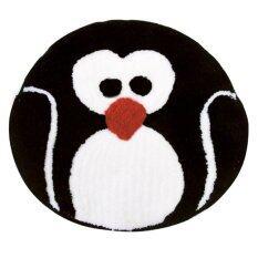 พรมอะคริลิค Wsp รุ่น Funny Mat ลาย Penguin 55X55 ซม Wsp ถูก ใน สมุทรปราการ