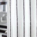 ขาย ซื้อ ม่านผ้าห้องน้ำ Wsp รุ่น Scp 8 S1082 พื้นสีขาวมีลายจุดไข่ปลา