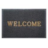 ซื้อ Wsp พรมดักฝุ่น Welcome Grey ขนาด 60X90 ซม Bmx 204 เทา ถูก