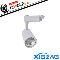 Xigzag Led Track Light Cob 20W แสงวอมไวท์ Ww โคมขาว ถูก