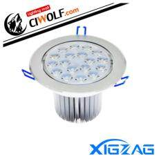ราคา Xigzagไฟฝังฝ้าเพดานLed Downlight Ceilinglight 18W กลม แสงวอมไวท์ Ww ใหม่ ถูก