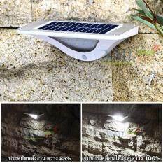 ราคา Xml Solar โคมไฟโซล่าเซลล์ 16 Smd Led Motion ทรง Modern ตัวใหญ่ ถูก