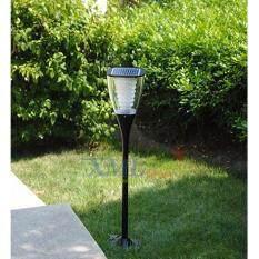 ราคา Xml Solar ไฟตั้งพื้น พลังเเสงอาทิตย์ ทรงถ้วย เเสง เหลืองวอมไวท์ ถูก