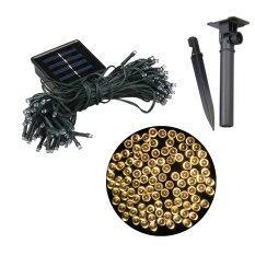 ขาย ซื้อ Xml Solar ไฟกระพริบโซล่าเซลล์ 100 Led เเสง เหลืองวอมไวท์ ไทย