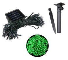 ขาย Xml Solar ไฟกระพริบโซล่าเซลล์ 100 Led เเสง เขียว ราคาถูกที่สุด