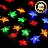 ส่วนลด Xml Solar ไฟกระพริบโซล่าเซลล์ ทรงดาว 30 ดวง เเสง หลากสี