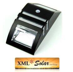 ขาย Xml Solar ไฟส่องทางโซล่าเซลล์ มีเซ็นเซอร์ แสงเหลือง ถูก
