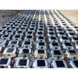 ขาย Xml Solar Flash ไฟหมุดถนน โซล่าเซลล์ 6 Led เเสง สีเหลืองกระพริบ Xml Solar ออนไลน์