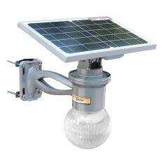 ส่วนลด โคมไฟถนนโซล่าเซลล์ ทรงโคมกลม รุ่น 12 Watt Monocrystalline เเสง ขาว Xml Solar ใน ไทย
