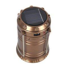ขาย Xml Solar โคมไฟตะเกียงโซล่าเซลล์ สีน้ำตาล Xml Solar