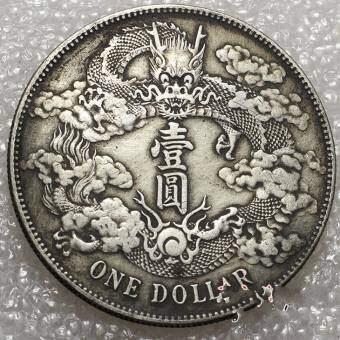 Xuantong สามปีเงินเงินหยวน Shikai ต่างประเทศเหรียญเหรียญในมหาสมุทร (จัดส่งเร็ว) - นานาชาติ