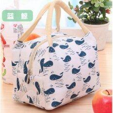 ขาย Y And L Support กระเป๋าเก็บอุณหภูมิ เก็บความร้อน เย็น ลายวาฬสีฟ้า Cooler Bag 225 Blue Thailand