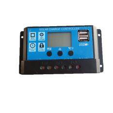 Y-Solar Pwm Solar Charge Controller 10a regulator 12v 24v Auto Big Display With Dual Usb 5v For Home Pv System Lighting - Intl.