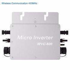 ราคา ราคาถูกที่สุด Y H กริดไทร์อินเวอร์เตอร์ Mppt 600W Waterproof On Grid Tie Inverter Dc22 50V To Ac180V 260V Micro Inverter With 433 462Mhz Wireless Communication Wvc600W 220V Intl