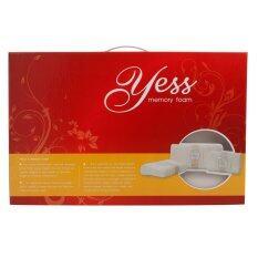 ราคา หมอนหนุนสุขภาพYess Memory Foam รุ่น Firm ไซส์ M 30X50X10 ซม เป็นต้นฉบับ Yess