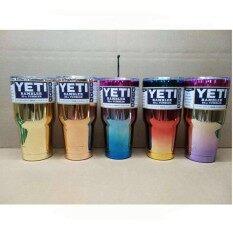 แก้วyeti แก้วเก็บความเย็น แก้วเยติ 30 Oz คละสี.