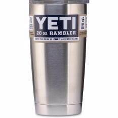 Yeti Rambler แก้วเก็บความเย็น เก็บน้ำแข็งได้นาน 24ชั่วโมง ขนาด 20 ออนซ์.