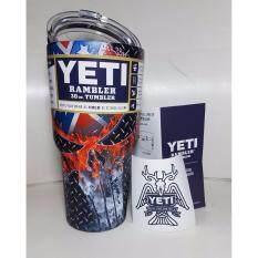 โปรโมชั่น Yeti Rambler ของแท้จากอเมริกา แก้วเก็บความเย็น เก็บน้ำแข็งได้นาน 24ชั่วโมง ขนาด 30 ออนซ์